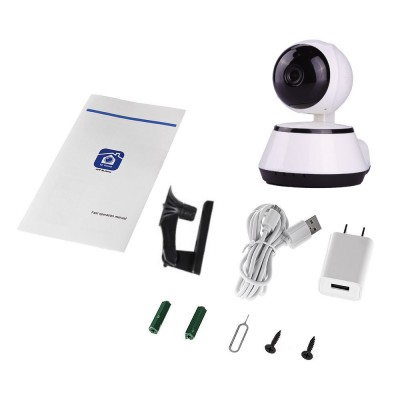 WIFI HD IP Head Shaking Security Camera, 720P Plus 16GB MicroSd, US Seller,
